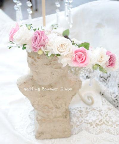 花冠ピンクと白