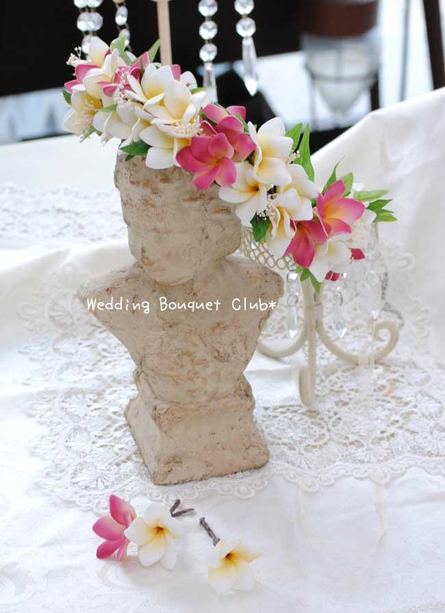 アートフラワーの花冠*デザイン集