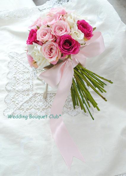 夢を叶える!造花のブーケで結婚式をご提案