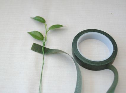 グリーン葉ワイヤリング