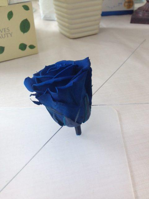 バラのワイヤリング:手作りブーケ講座