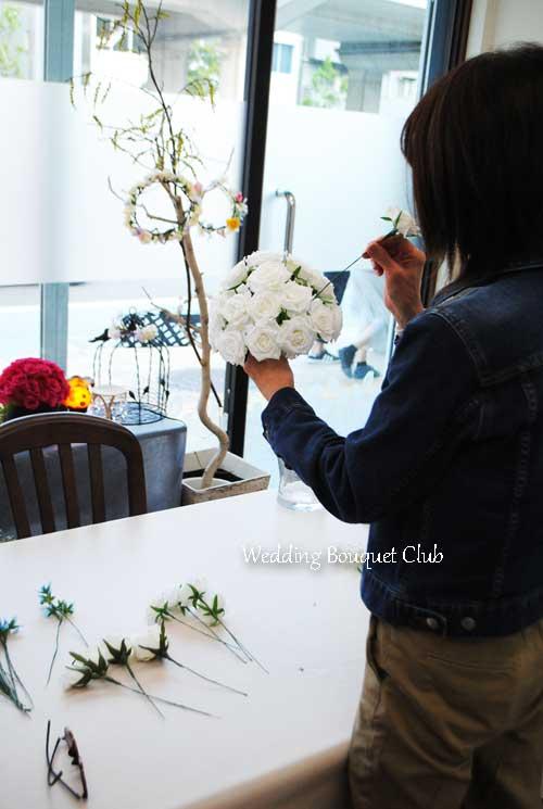 心のこもった結婚式ブーケを花嫁様に!