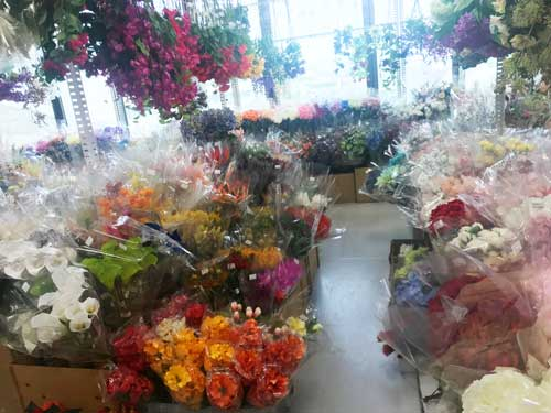 お花のプロが通う花資材問屋さん