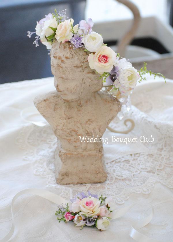 子供の用の花冠とリストレット