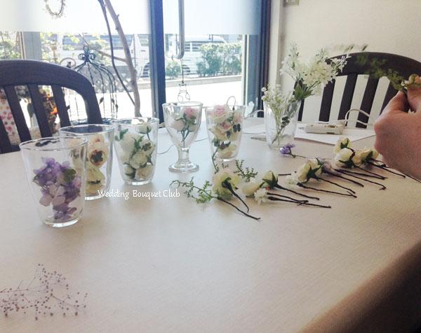 花冠の花材