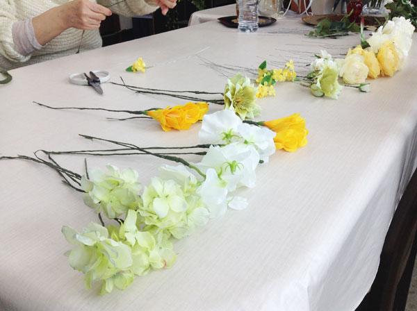 ワイヤリングのお花