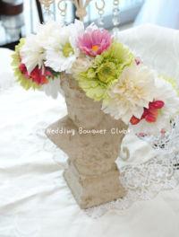 ガーベラの花冠